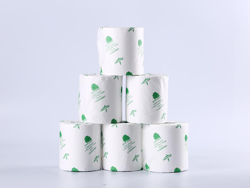 2ply Toilet Tissue/Toilet Roll/Bathroom Tissue with Paper Wrapper Packages